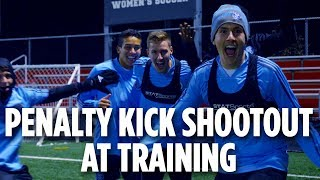 Penalty Kick Shootout | ACADEMY INSIDE TRAINING