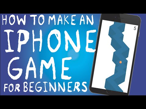 How to make an iPhone App ZigZag Beginners Guide | Swift and Xcode PART 1