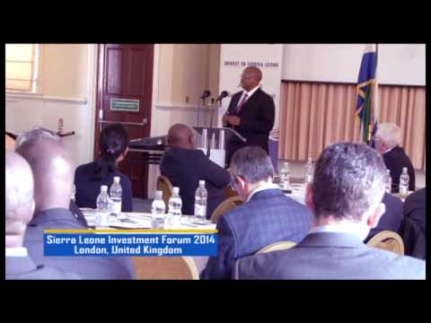 Sierra Leone Investment Forum 2014