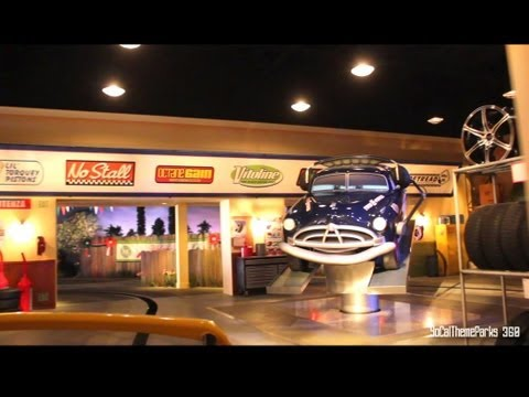 [HD POV] Disney-Pixar Cars Ride - Radiators Springs Racers Ride - California Adventure - Disneyland