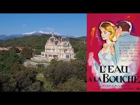 L'EAU A LA BOUCHE (film tourné au château d'Aubiry)