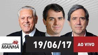 Resultado de imagem para Jovem Pan Jornal da Manhã - 19/06/17