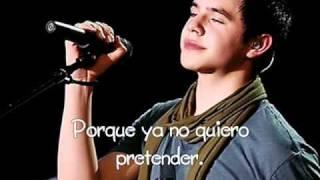 David Archuleta - Crush | Versión En Español