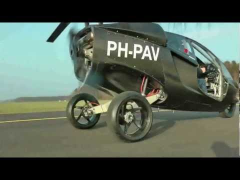 Flying Car PAL-V Test - Flying Experience