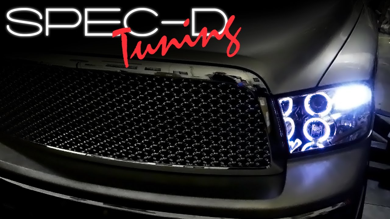 SPECDTUNING INSTALLATION VIDEO: 2009 UP DODGE RAM ...