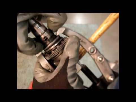 Как разобрать ствол перфоратора