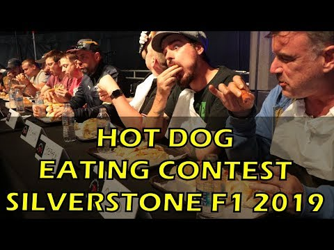 Hot Dog Eating Contest - Silverstone Woodlands F1 Grand Prix 2019