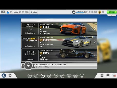 REAL RACING 3–FLASHBACK EVENTS–VICTORY BY DESIGN–STAGE – 1.1(QUALIFYING)–Head To Head