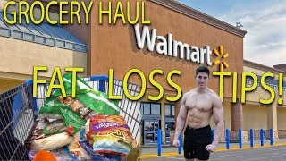 WEIGHT LOSS GROCERY HAUL - WALMART   LOW FAT TACOS   MAD TIPS