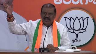 Gujjula Premendhar Reddy addresses media //21-10-2020