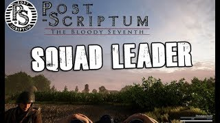 Post Scriptum | SQUAD LEADER ROLE | FULL GAME
