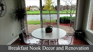 Breakfast Nook Decor and Renovations