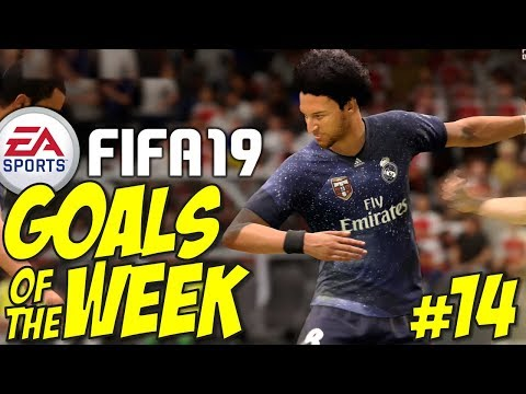 Fifa 19 - TOP 10 GOALS OF THE WEEK #14 (Best Goals & Gameplay) thumbnail