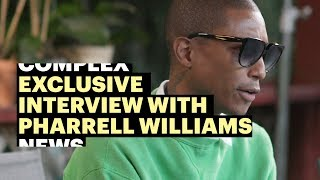 Exclusive: Pharrell Williams Talks New Adidas Sneaker, Music, and More Video