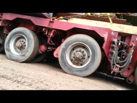Перевозка негаборита 260 тонн
