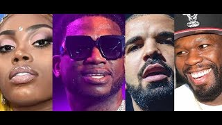 Gucci Mane Asian Doll Beef, Drake REACTS Bucks Owner Daughter Pusha T Shirt, 50 Cent Son Says He Owe