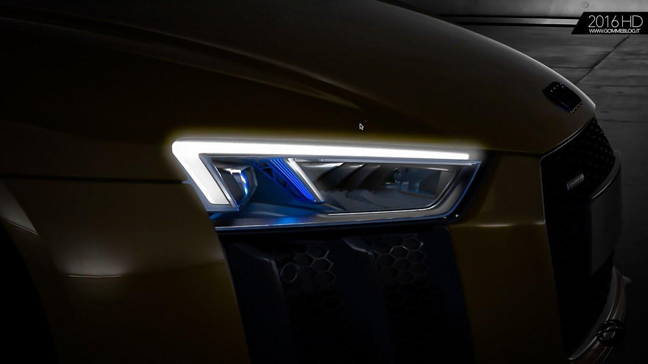 Audi R8 Spyder V10 | LED Headlight | HOW IT'S MADE - YouTube