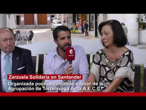 IV Gran Antología de la Zarzuela organizada por Funcantabria a favor de la Asociación Nacional Contra el Cancer