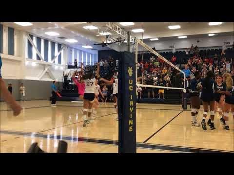 UC Davis at UC Irvine Women's Volleyball