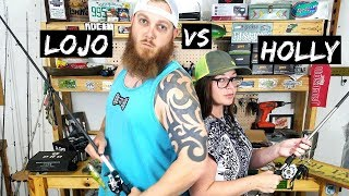 WIFE vs HUSBAND Fishing Challenge (Loser Does WHAT???)