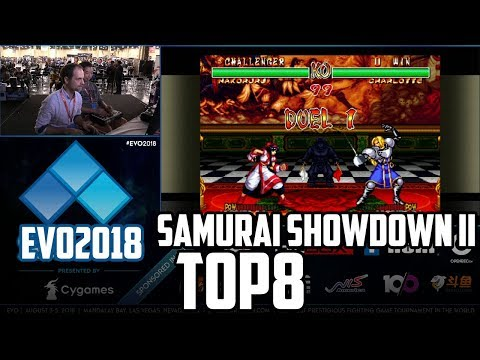 EVO 2018 SAMURAI SHOWDOWN 2 TOP8 (TIMESTAMP)