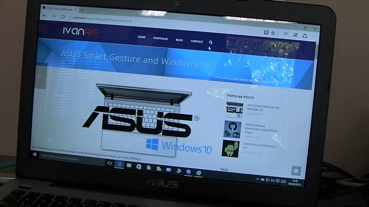 DRIVER FOR ASUS K46CA ELANTECH TOUCHPAD