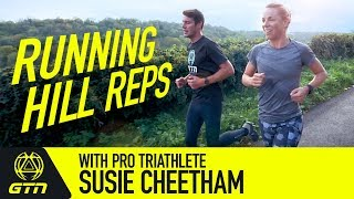 Running Hill Repeats Workout With Pro Triathlete Susie Cheetham