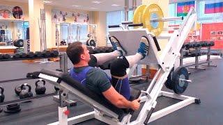 Жим ногами в тренажёре: техника и нюансы