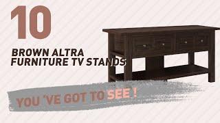 Brown Altra Furniture TV Stands // New & Popular 2017