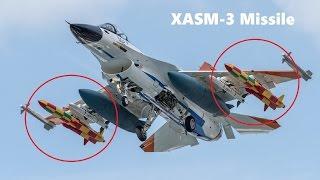 挑戰新聞軍事精華版--日本新型空對艦飛彈「XASM-3」,將裝於「F-2」戰機