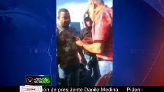 Agentes de la DIGESETT detienen a Pepe Goico en la 27 de Febrero