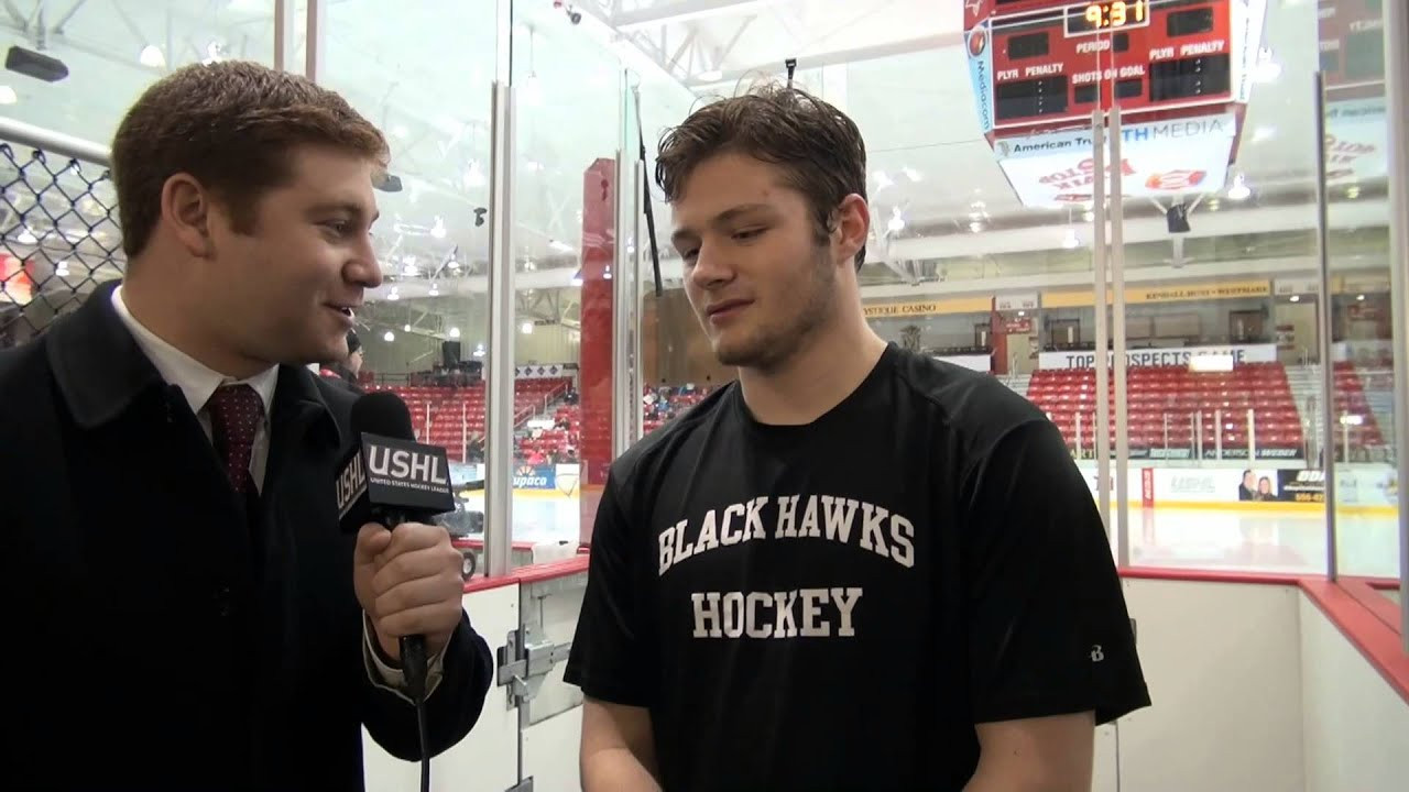 Tyler Sheehy - 2015 USHL/NHL Top Prospects Game morning ...
