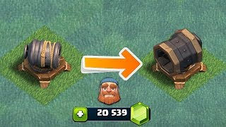 KILL HEROES IN ONE SHOT!! | clash of clans | MAX GIANT CANNON LVL 7