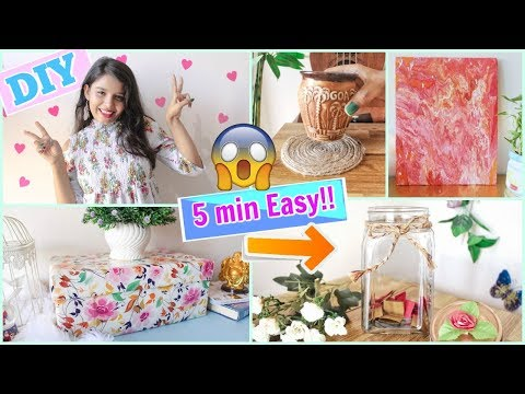5 Minute Crafts To Do When You Are BORED !! Fun and Easy DIYs