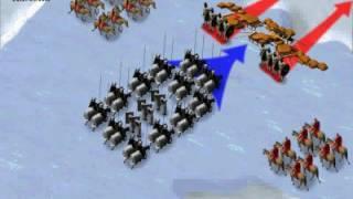 Анимационная карта-схема Ледовое побоище