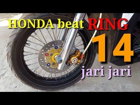 Modifikasi Honda Beat Jari Jari Ring 14 Audiots Channel