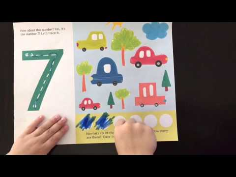 Numbers 1-10 Sample Worksheet
