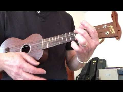 ukulele blues in Am- Tutorial
