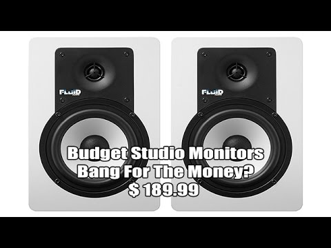FLUID  C5 Studio Monitor Speakers Review ARE THEY GOOD?