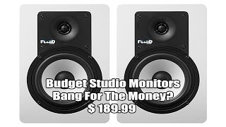 FLUID AUDIO C5 Studio Monitor Speakers Review, ARE THEY GOOD?
