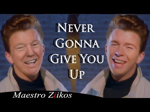 Rick Astley – Never Gonna Give You Up (Donald Trump Cover)