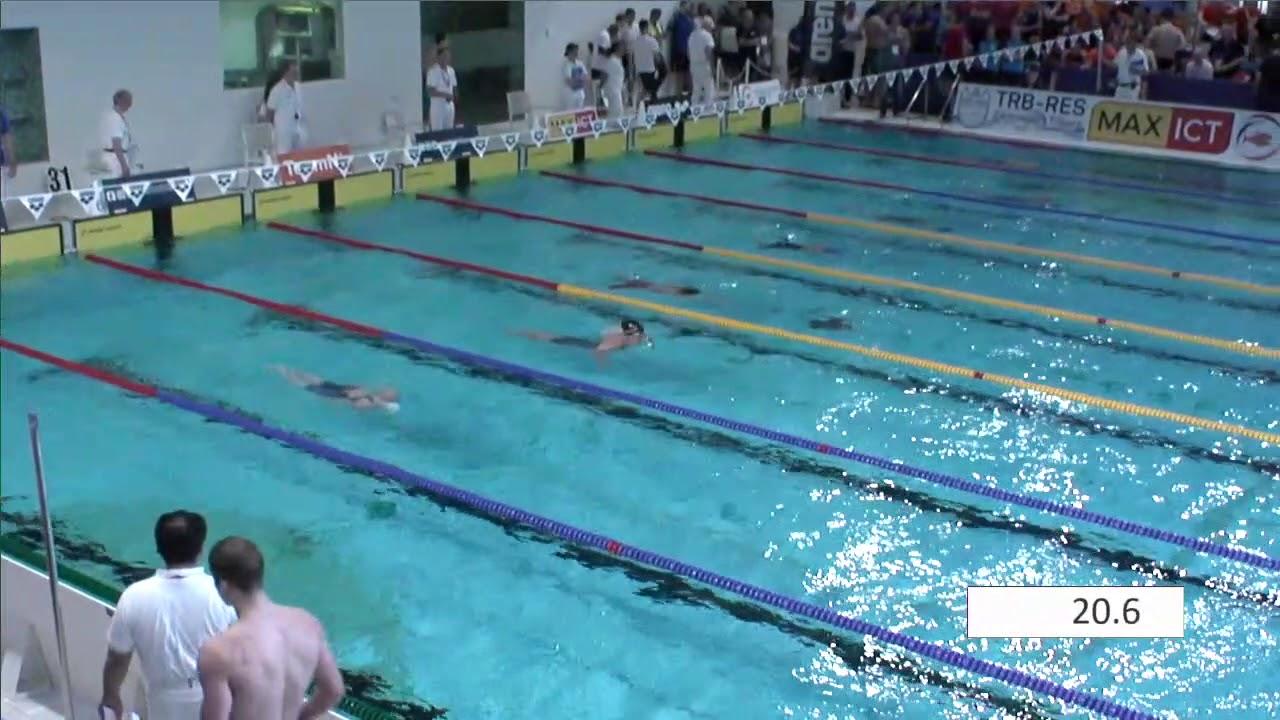 Women m breaststroke onk kb tilburg zwemmen