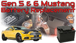 How to Replace a 2005-2018 Mustang Battery • Cars Simplified Quick Tips