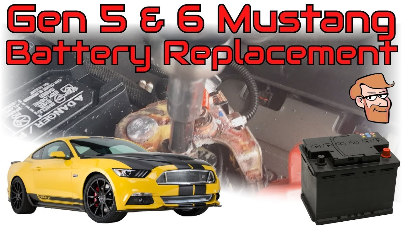 How To Replace A 2005 2018 Mustang Battery Cars Simplified Quick Tips