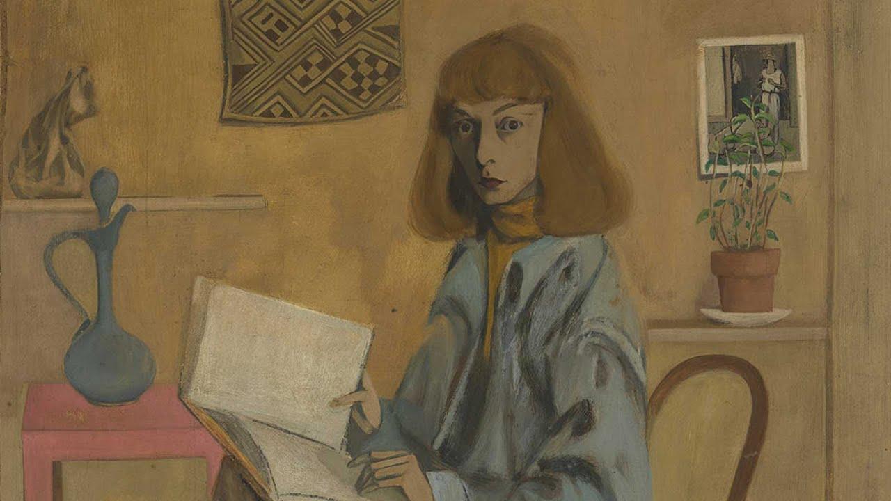 Elaine De Kooning Portrait In Minute