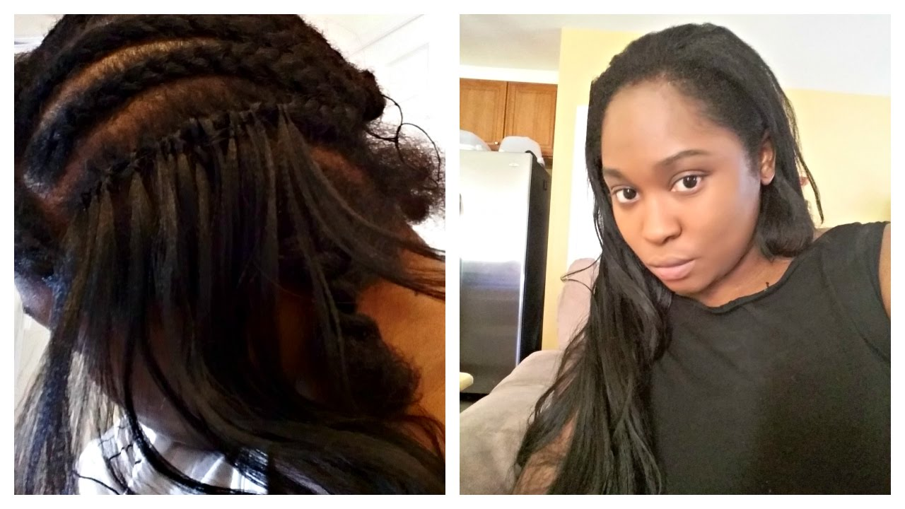 Realistic Weave with Crochet Braids using Kanekalon hair ...