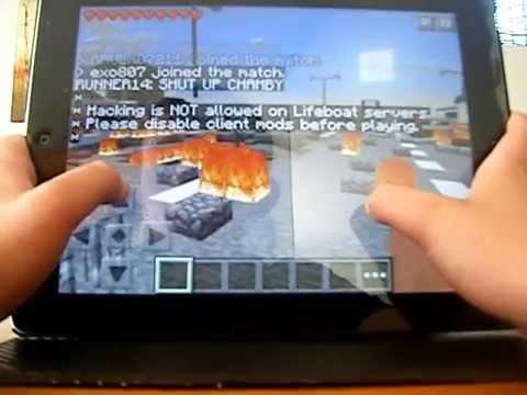 Minecraft PE the bet on survival games, custom adventure