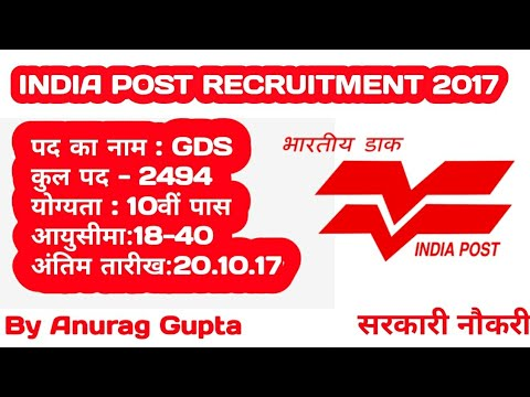 India Post Gramin Dak Sevak Online Form | Bumper Vacancy | Government Job | Apply Now | Govt. Job