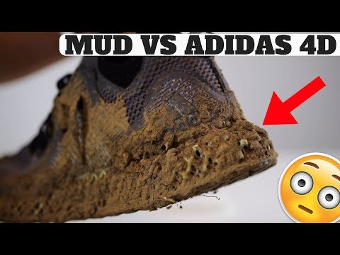 Cleaning MUDDY adidas 4D FUTURECRAFT TECHNOLOGY?! 😳