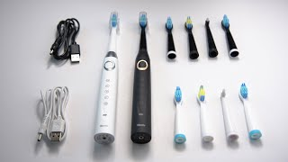 Best Budget Electric Toothbrush - 2 Sonic Electric Toothbrushes for $45!!! - Sboly Toothbrush Review